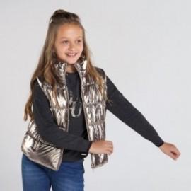 Kamizelka ocieplana dla dziewczynki Mayoral 7337-47 Stare złoto