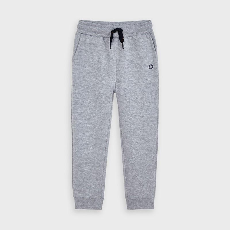 Długie spodnie dresowe chłopięce Mayoral 725-79 szare