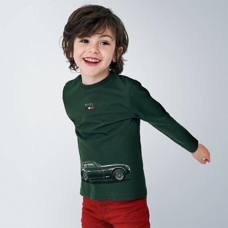 Koszulka z długim rękawem chłopięca Mayoral 4046-52 zielona
