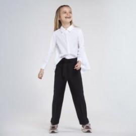 Spodnie cropped dla dziewczynki Mayoral 7536-44 czarne