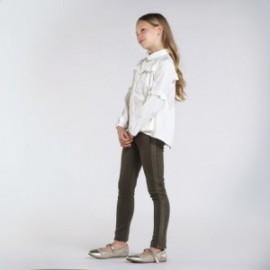 Spodnie długie dziewczęce Mayoral 7537-50 zieleń