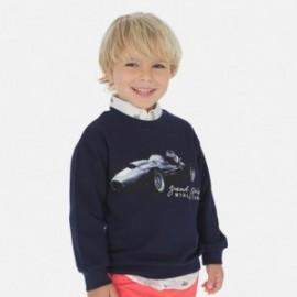 Bluza bez kaptura chłopięca Mayoral 3460-37 Granatowy
