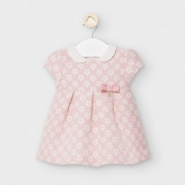 Sukienka żakardowa dla dziewczynki Mayoral 2861-10 różowa