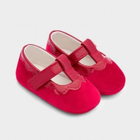 Buciki eleganckie dla dziewczynek Mayoral 9341-42 Czerwone