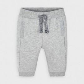 Spodnie dzianinowe dla chłopców Mayoral 719-32 szare