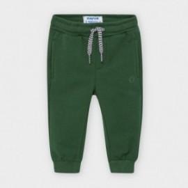 Długie spodnie dresowe dla chłopca Mayoral 704-41 zielone