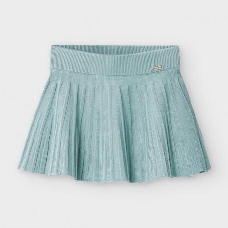 Spódnica trykotowa dla dziewczynek Mayoral 2938-55 turkusowa