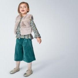 Spodnie kuloty dla dziewczynek Mayoral 4546-7 turkusowe