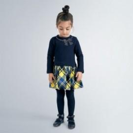 Sukienka elegancka dla dziewczynek Mayoral 4961-64 Granatowa