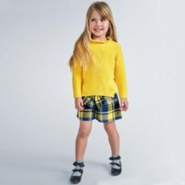 Bermudy w kratkę dziewczynka Mayoral 4206-42 Żółte