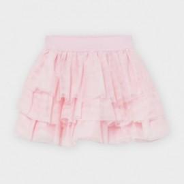 Spódnica tiulowa dla dziewczynki Mayoral 2939-62 Różowa