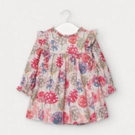 Sukienka sztruksowa dla dziewczynek Mayoral 2957-22 Koralowa