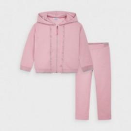 Dres w groszki dziewczynka Mayoral 4824-17 Różowy