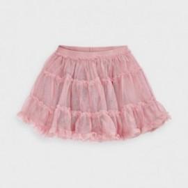 Spódnica tiulowa dla dziewczynki Mayoral 4953-97 Różowa