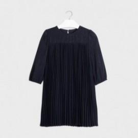 Sukienka elegancka dla dziewczyn Mayoral 7962-38 Granatowa