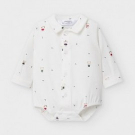 Body koszulowe dla chłopców Mayoral 2778-15 białe