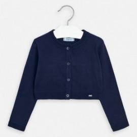 Sweterek elegancki dla dziewczynek Mayoral 321-96 granatowy