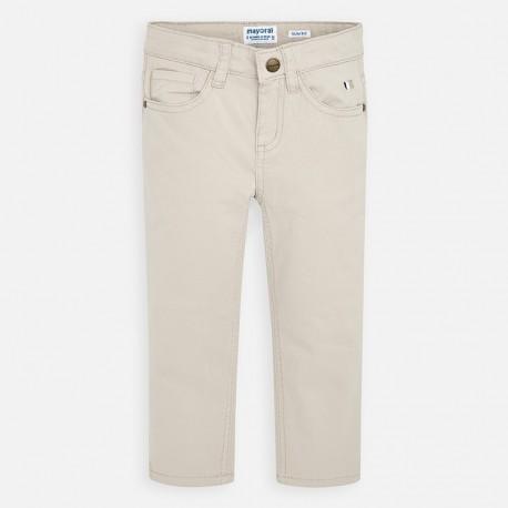 Spodnie gładkie dla chłopców Mayoral 509-13 szare
