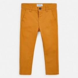 Spodnie eleganckie dla chłopca Mayoral 512-59 miodowe