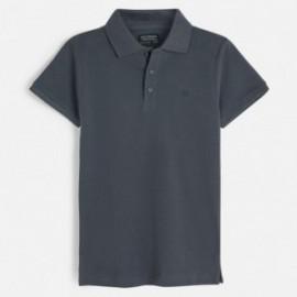 Koszulka polo krótki rękaw dla chłopca Mayoral 890-46 grafit