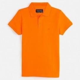 Koszulka polo krótki rękaw dla chłopca Mayoral 890-50 mandarynka
