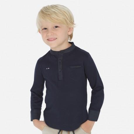 Koszulka z długim rękawem chłopiec Mayoral 3073-29 granat
