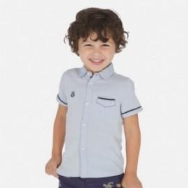 Koszula wizytowa chłopięca Mayoral 3163-19 Błękitna