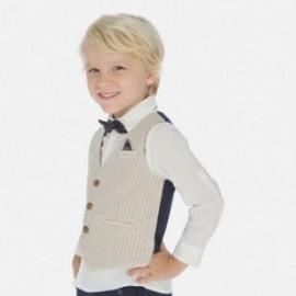 Kamizelka elegancka dla chłopców Mayoral 3438-74 beżowa