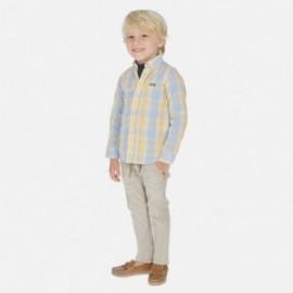 Spodnie eleganckie dla chłopców Mayoral 3530-86 beżowe