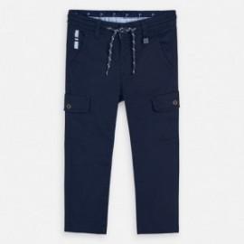 Spodnie z kieszeniami chłopięce Mayoral 3533-22 Granatowe