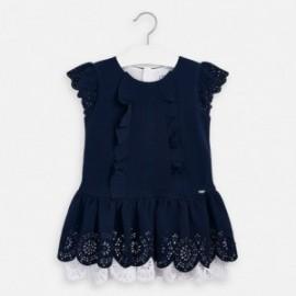 Sukienka elegancka dla dziewczynki Mayoral 3931-17 granat