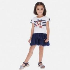 Sukienka dla dziewczynki Mayoral 3958-42 granat