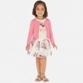 Komplet spódnica i bluzka dla dziewczynki Mayoral 3963-64 róż