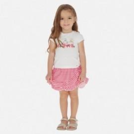 Komplet spódnica i bluzka dla dziewczynki Mayoral 3964-10 czerwony