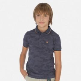 Koszulka polo dla chłopców Mayoral 6140-77 grafit