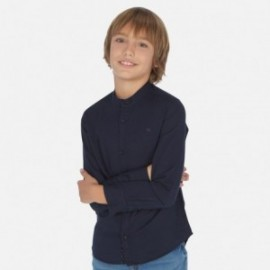 Koszula na stójce chłopięca Mayoral 6156-16 Granatowy