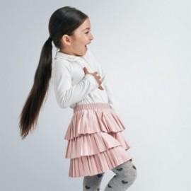 Spódnica plisowana dla dziewczynki Mayoral 4958-78 Różowy