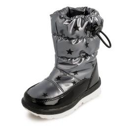 Śniegowce dziewczęce Garvalin 201850 kolor srebrny