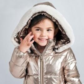 Kurtka zimowa dziewczęca Mayoral 4419-62 Stare złoto