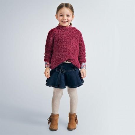 Spódnica jeansowa dziewczęca Mayoral 4956-70 Granatowy