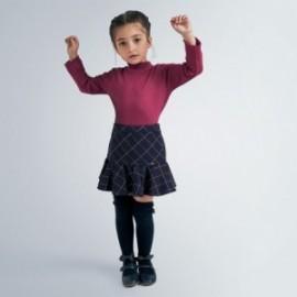 Spódnica w kratkę dziewczęca Mayoral 4957-15 Granatowy