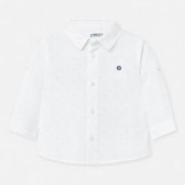 Koszula w kropki chłopięca Mayoral 117-82 Biały