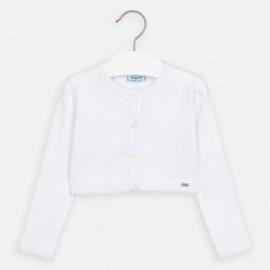 Sweterek dla dziewczynki Mayoral 321-94 Biały