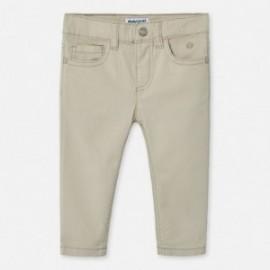 Spodnie slim fit chłopięce Mayoral 506-30 szare