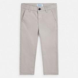 Spodnie eleganckie dla chłopca Mayoral 512-58 szare