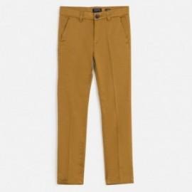 Spodnie klasyczne chłopięce Mayoral 530-16 Brązowy