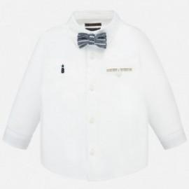 Koszula elegancka z muszką chłopięca Mayoral 1162-86 Biały