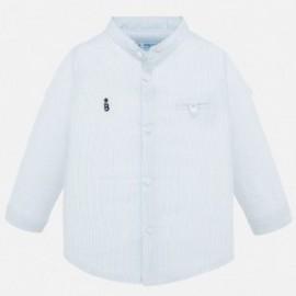Koszula na stójce chłopięca Mayoral 1163-87 Błękitny