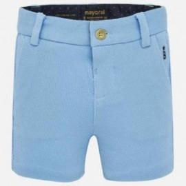 Bermudy eleganckie dla chłopca Mayoral 1280-59 Niebieski