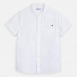 Koszula lniana chłopięca Mayoral 3161-33 Biały